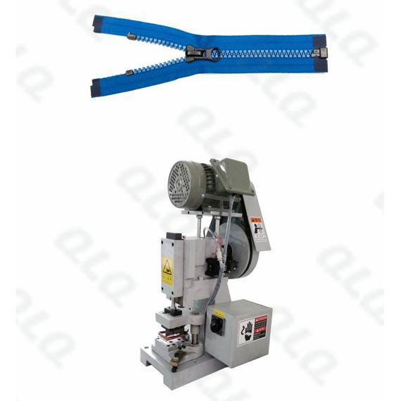 QLQ-SOCM-1 Semi-automatic Plastic Zipper Open-end Cutting M/C - Machine