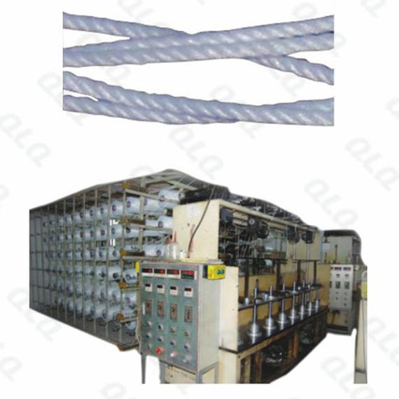 QLQ-CC16M, Center Cord Making Machine, 16 heads, Zipper Machine