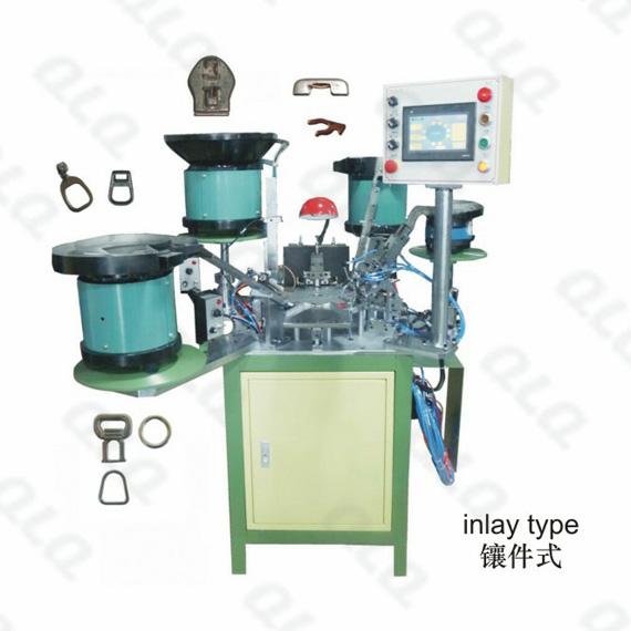 QLQ-025, Auto-lock Slider, Auto-lock Slider Assembly Machine, Y shape needle, Slider Assembly Machine