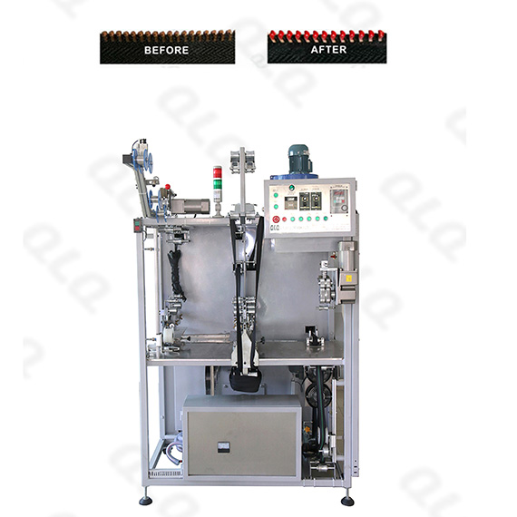 QLQ-PMLM Automatic Plastic & Metal Zipper Lacquer Machine