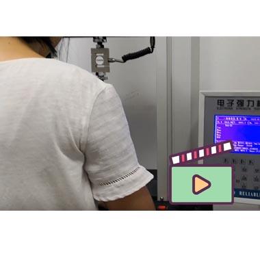 Zipper Slider Test Machine