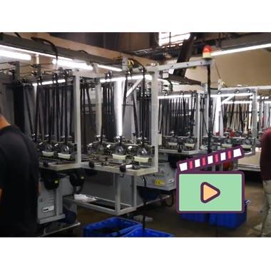 Zipper Machines to make Metal Long-chain Zipper