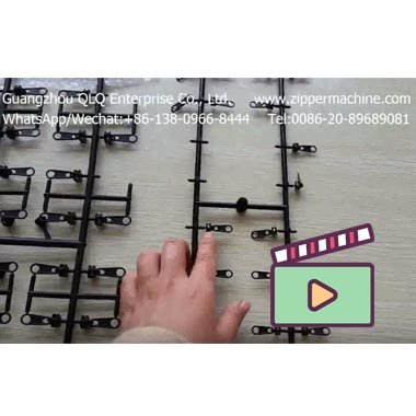 Plastic slider mould, Zipper Slider Injection Mould