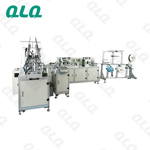 CE MODEL Fully Automatic Disposable Face Mask Making Machine (IV type) (With One Conveyor)