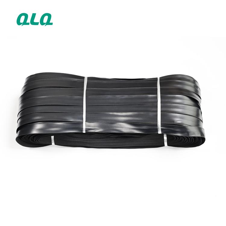 Zipper price High quality coated PU waterproof long chain zipper Nylon 3#