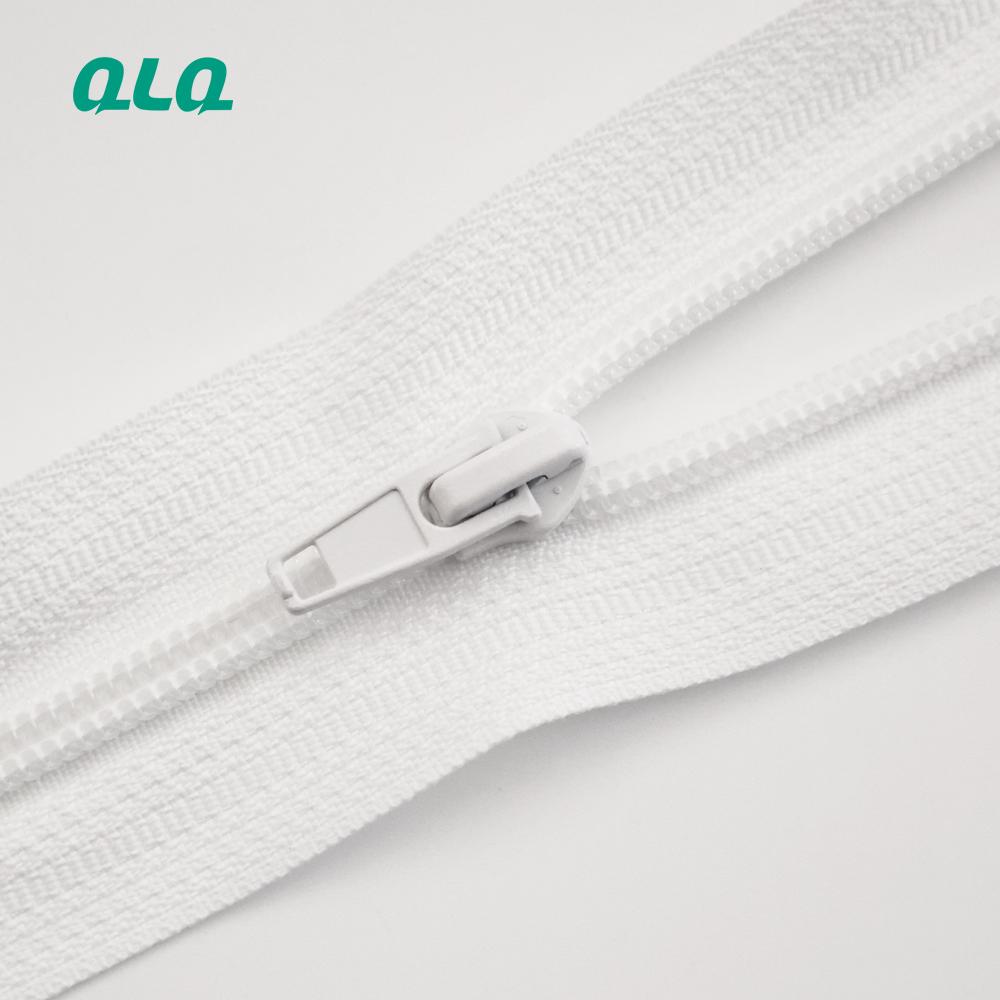 QLQ Nylon Open-end Finished zipper tape 5 8 10 nylon